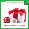 Rectángulo de regalo de papel de empaquetado del rectángulo del rectángulo de regalo del rectángulo de la cinta del OEM
