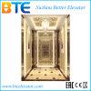 Elevador do passageiro de Luxuary com elevador Gearless de Tration
