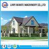 Tuile de toit enduite exceptionnelle de bardeau en métal de pierre de construction de résistance