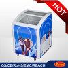 Contre- premier mini congélateur de film publicitaire de congélateur de petit congélateur de crême glacée