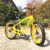 Bicicleta elétrica da neve gorda chinesa do pneu da potência 26inch verde