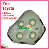Interior remoto para auto Toyota com 3 teclas Ask315MHz Fccid-Gq4-29t