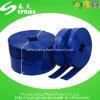 Boyau plat étendu par pipe flexible en plastique d'irrigation de l'eau de PVC