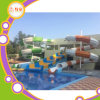 Preço da corrediça de água da fibra de vidro do parque do Aqua do equipamento da corrediça do parque da água