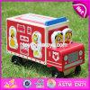 Jouets en bois de véhicule de dessin animé neuf de modèle pour les gosses W04A287