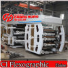 6 Colorsroll zu Roll Woven Flexo Printing Machine