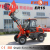 Caricatore approvato 1.6ton del Ce di Everun piccolo con la benna 4 In1