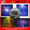 다채로운 LED 수정같은 마술 공 빛