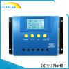 30A 60A 80A 까만 빛 G60를 가진 태양계를 위한 태양 책임 관제사 또는 규칙 12V/24V