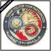 Изготовленный на заказ монетка возможности для коммеморативного воинского сувенира США (BYH-10810)
