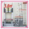 普及した3.8m Double Telescopic Bamboo Aluminium Ladder