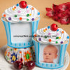カップケーキの写真フレームのギフト(SLP5129A)
