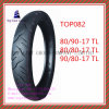 Superqualität, schlauchloser Motorrad-Reifen mit 80/90-17tl, 80/80-17tl, 90/80-17tl