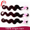 1b/99j Body Wave Hair Extension 100%のブラジル人Virgin Human Hair