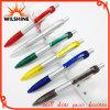 Pena de Ballpoint plástica de prata para a promoção (BP0287S)