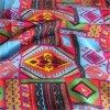 Tissu de viscose de textile de vente en gros de tissu de Challis de rayonne estampé par coutume