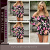 Più nuova tuta Rompers (TONY6039) del off-Shoulder di Lady Playsuit
