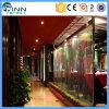 Cascade à écriture ligne par ligne artificielle d'intérieur de décoration de fontaine de mur de restaurant d'hôtel
