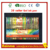 20 цветов Gel Ink Pen в PVC Bag Packing