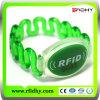 Começ Amostras Livres! Tag Claro Que Pode Escrever-se do Relógio do Wristband do Diodo Emissor de Luz de RFID