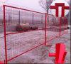 6FT*10FT 캐나다에 의하여 용접되는 임시 담 위원회 또는 건축 사재기 담