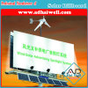 Vertoning van de Reclame van het Aanplakbord van de zonneMacht/van de Energie van de Wind de Openlucht