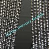 Tenda d'attaccatura Chain del branello del metallo della sfera di colore del Gunmetal del lusso 10mm