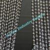 Luxus10mm Gunmetal-Farben-Kugel-hängender Metallraupe-Kettenvorhang