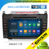 Vista carro DVD DAB+ Android 5.1 de Imageerisin Es3021b maior 8 do  para o velocista Vito da classe W169 W245 do Benz a/B