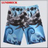 O estilo simples caçoa Shorts da praia da roupa para o menino