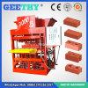 Máquina de fatura de tijolo da cavidade da argila de Eco 7000plus