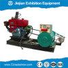 Gerador industrial da gasolina com o acionador de partida elétrico para a exposição