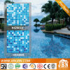 青い混合されたカラー浴室およびプールのガラスモザイク(H420010)
