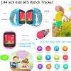 Kinder GPS-Verfolger-Uhr mit GPS+Lbs verdoppeln Position (Y9)