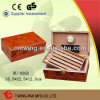 100 Cigars를 위한 Handmade Antique Wooden Red Cigar Humidor