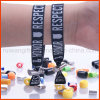 Bracelet réglable tissé par tissu de polyester (PBR022)