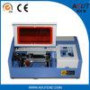 Cnc-CO2 Laser-Gravierfräsmaschine mit Laser-Gefäß