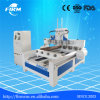 Router redondo do CNC do Woodworking da gravura de madeira da elevada precisão para cinzelar