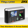 2.8 polegadas TFT Color LCD Tempo e Attendance System & Access Controller Zks-T1