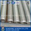 Pantallas envueltas alambre del tubo filtrante del acero inoxidable V de la pantalla de alambre de la cuña Ss304