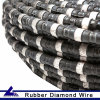 Diamond de borracha Wire Saw para Quarrying
