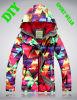 두 배 Plate Veneer Ski Windproof 및 Waterproof Breathable Outdoor Exposure Jacket