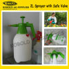 2L Pressure Sprayer com Safety Valve
