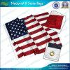 Bandeira Sewn bordada de América da tira (B-NF05F06003)