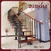 Inneres Stahl-und Holz-Treppenhaus (DMS-7013)