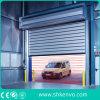 Двери штарки завальцовки промышленного легирующего металла пакгауза алюминиевого высокоскоростные