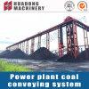 Sistema de transportador para la pila de carbón de la central eléctrica