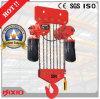 alzamiento de cadena eléctrico 20t con la carretilla manual