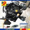 Motor diesel del motor 4tnv98 4tnv98t del excavador con Turbo para la pieza de Yanmar