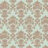 Papier peint classique italien de modèle de fleur de type de qualité pour le décor de murs intérieurs